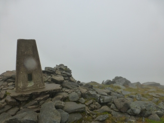 What's starting to feel very familiar - a beautiful view from the summit of Ben Hope.